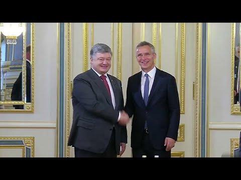Ουκρανία: Επίσκεψη Στόλτενμπεργκ
