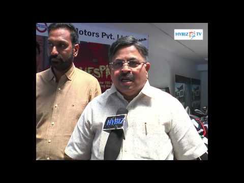 , Krishna Prasad-Aprilia SR 150 Launched in Vizag