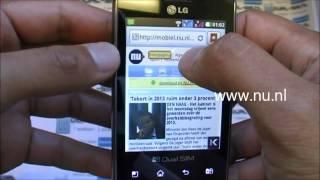 LG Optimus L3 E405  (2 sim 2 sóng)