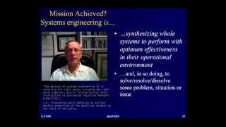 Systems & Systems Engineering—Just what is SE?