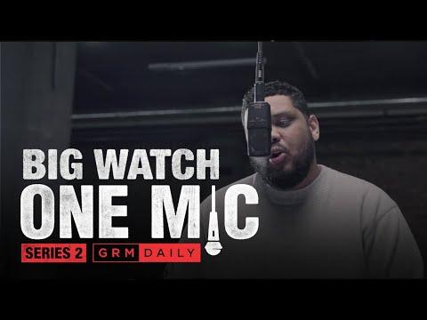 Big Watch – One Mic Freestyle | GRM Daily