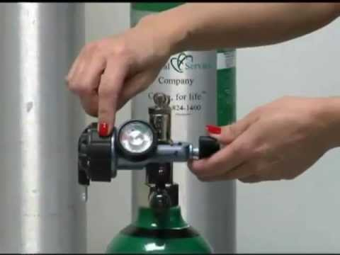 How to use an oxygen gauge