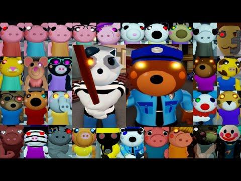ROBLOX PIGGY BOOK 1 2 ALL JUMPSCARES