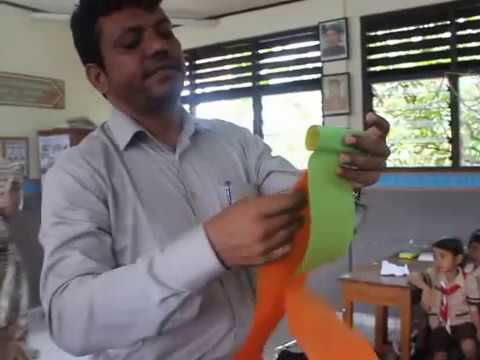 Magic Paper Without  Glue From India || Hiasan Pesta Dan Bunga Mawar