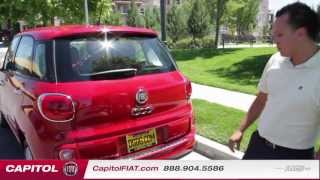 In Depth Review And Test Drive 2014 FIAT 500L | Capitol FIAT | San Jose, CA