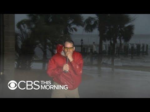 Hurricane Florence whips Beaufort, North Carolina