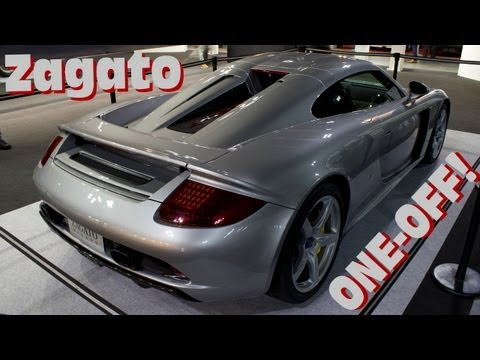 0 Zagato Porsche Carrera GT is a Subtle Rework of Stuttgart's Sublime Supercar [w/ Videos]