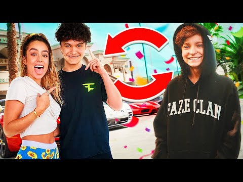 SWITCHING LIVES With FAZE JARVIS For 24 HOURS!! **gone wrong**