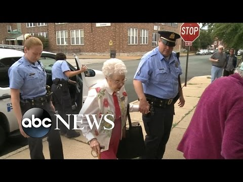 102YearOld Crosses Arrest Off Her Bucket List