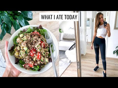 WHAT I ATE TODAY | Healthy & Easy Food Ideas | Annie Jaffrey