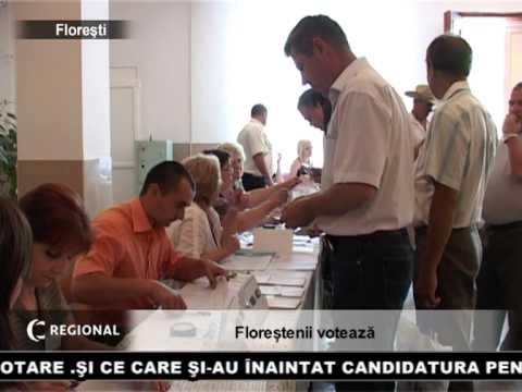 Floreștenii votează
