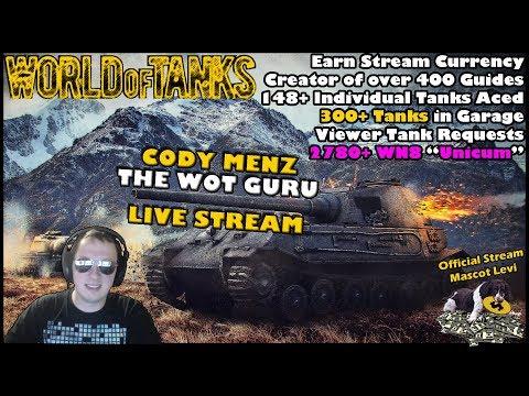 World of Tanks Live Stream [WoT Guru] [308 Tanks] [English - NA] [Viewer Tank Requests] 01/12/2018