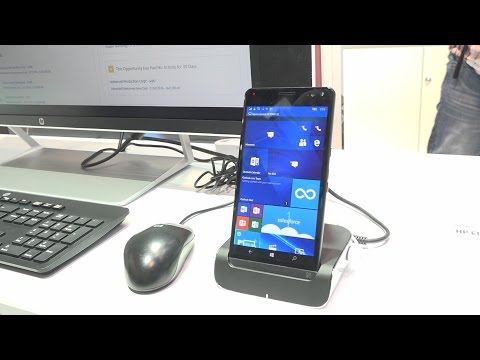 HP Elite X3 : le smartphone business sous Windows 10 - MWC 2016
