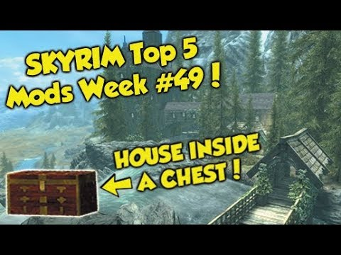 Skyrim Remastered Top 5 Mods of the Week #49 (Xbox One Mods)