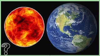 What If The Earth Was Bigger Than The Sun?