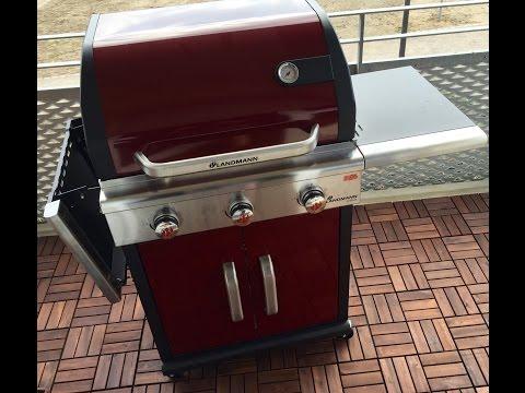 Landmann 11510 Holzkohlegrill Schwarz 110x155x67 Cm : Was die beste landmann grill grill blumen gartenfreunde