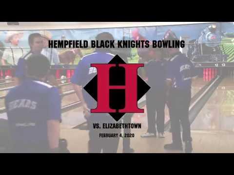 Hempfield vs. Elizabethtown Bowling Senior Night 2/4/2020