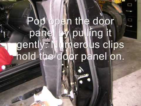 DIY fix for 2002 Nissan Door Rattle