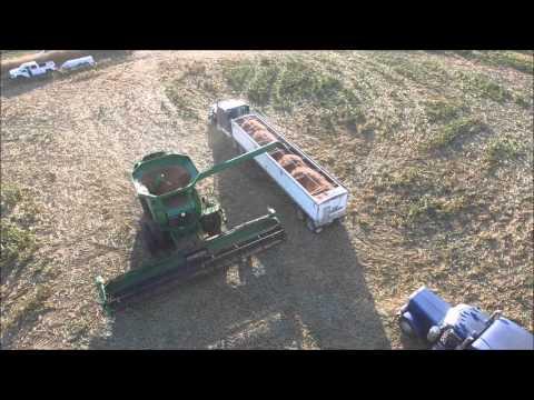 Ediger Farms Drone (видео)