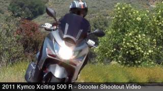 8. MotoUSA Scooter Shootout:  2011 Kymco Xciting 500 R