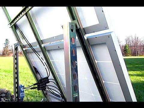 DIY Solar Panel System – Off Grid Ground Mount 300 watts