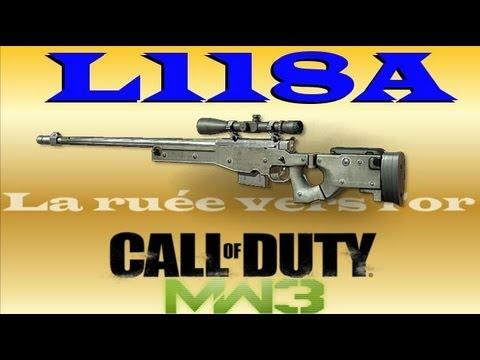L118A - Dernier épisode de la série avec le sniper L118A, Un max de j'aime pour ce dernier épisode svp ??? Merci Tout les épisodes de la série ici : http://www.youtu...