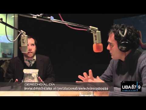 Juan Pablo Olmo, en Derecho al Día - el programa de radio de la Facultad de Derecho