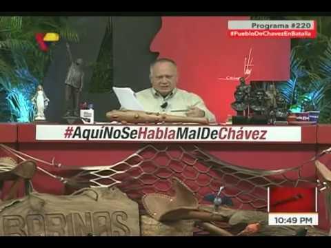 Diosdado Cabello sobre migraciones de venezolanos: Denuncia campaña mediática y