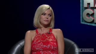 It's time for a highly intellectual #HARDCHAT Sophie Monk vs. Tom Gleeson Just remember, he can be poison. #TheWeekly.
