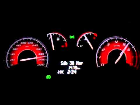 FIAT nuevo Palio Sporting 1.6 16v / velocidad final. Argentina.