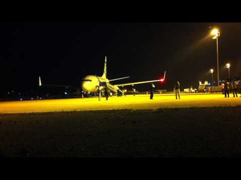xsus1711 - On 27 April 2011 around 21:00, the first commercial airline from the Dutch fleet Transavia landed on Gazipasa Alanya's airport. This was a major event for th...