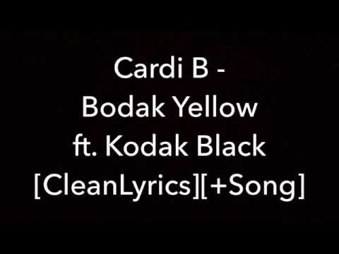 Cardi B - Bodak Yellow Ft. Kodak Black [Lyrics]