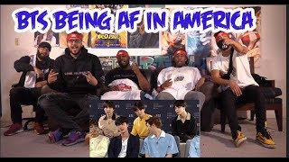 Video Bts being extra af in America Reaction/Review download in MP3, 3GP, MP4, WEBM, AVI, FLV January 2017