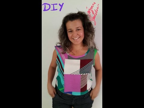 Como hacer Una Blusa 2014 DIY How To Make A BLouse Fall 2014