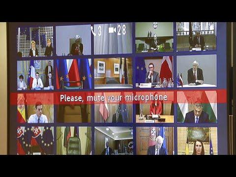 COVID-19: Προσπάθεια θωράκισης από τους ηγέτες της Ε.Ε.