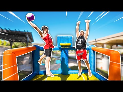 EPIC Inflatable Basketball Court Challenge