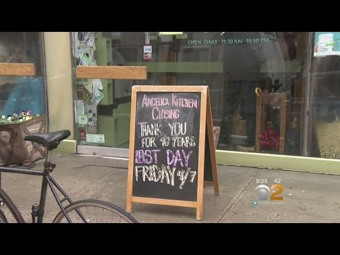 East Village Restaurants Struggle Under Rising Rents