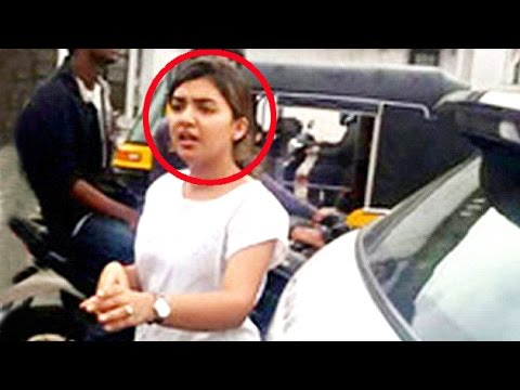 Nazriya Nazim Creates Problem Amidst Traffic