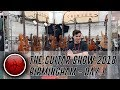 Download Video Crimson Guitars at the Birmingham Guitar Show 2018 - Day 1