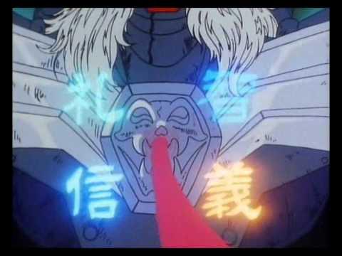 i 5 samurai - ryo sconfigge arago grazie all'armatura bianca