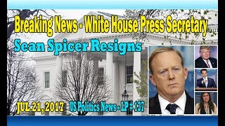 Breaking News - White House Press Secretary Sean Spicer Resigns – LP 137On Friday, Sean Spicer resigned as press secretary of White House. Sean Michael Spicer was born September 23, 1971. He is an American political aide who serves as White House Press Secretary and served as acting White House Communications Director under President Donald Trump in 2017. He was communications director of the Republican National Committee from 2011 to 2017, and its chief strategist from 2015 to 2017.Many say that Sean Spicer's departure was pretty sudden, but that was quite predictable. When Anthony Scaramucci, a transitional official in Trump's campaign and longtime Wall Street sponsor, allegedly to be appointed White House Communications Director.Sarah Huckabee Sanders, who was promoted to press secretary on Friday, read a statement from the president at the press conference.Sean Spicer said that the appointment of Mr Scaramucci was a big mistake of President Trump. Sean Spicer had doubts about suspicious of Scaramucci's ability to do the job even though Scaramucci had previously succeeded in raising funds and often appeared on cable television to defend the candidate President Trump during Trump's bid for office.More info about Anthony Scaramucci: Anthony Scaramucci was born January 6, 1964. He is an American entrepreneur, financier, political figure, and author. On July 21, 2017, President Donald Trump appointed him the White House Communications Director....More info about Sean Spicer :On July 21, 2017, Spicer announced his intention to resign as White House Press Secretary. He made his decision known immediately after President Trump appointed financier Anthony Scaramucci as White House communications director. According to the New York Times, Trump asked Spicer to stay on, but Spicer announced his resignation after telling the President he vehemently disagreed with the appointment of Scaramucci.ThanksPlease subscribe, like,shareLucy protopnail channel – Part : World NewsUS politics news.My blog : https://lphotnews.blogspot.com/