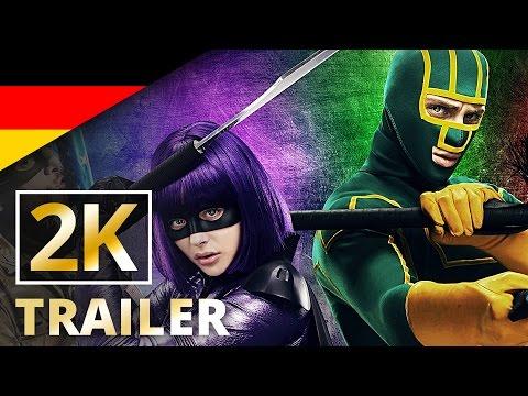 Kick-Ass 2 - Offizieller Trailer #1 [2K] [UHD] (Deutsch/German)