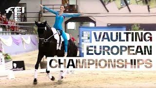 RE-LIVE | Day 1 | FEI Vaulting European Championships | Kaposvár 2018