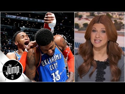Paul George's faith in OKC appears to be paying off - Rachel Nichols | The Jump