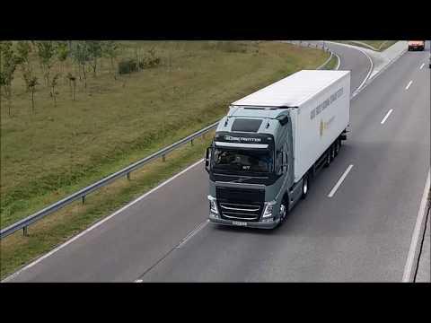Volvo Trucks platooning in Hungary first time_Magyarország, Budapest. Heti legjobbak