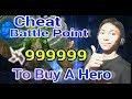 Cheat battle poin mobile legend buat beli hero baru