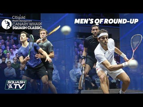 Squash: Canary Wharf Classic 2019 - Quarter Final Roundup