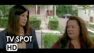 The Heat (2013) - TV Spot: Bad Combo - Sandra Bullock, Melissa McCarthy