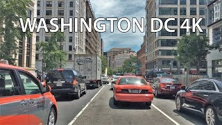 Car Driving in capital of the United States - Washington