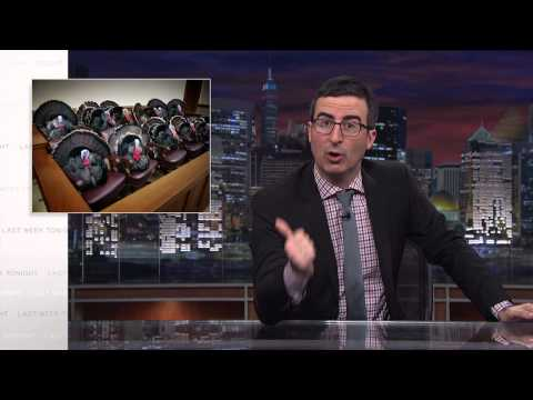 John Oliver's Hilarious Take On The Presidential Turkey Pardon
